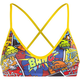 Turbo Boom Haut de bikini Femme, red